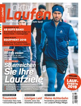 Ausgabe 1/19 aktiv Laufen